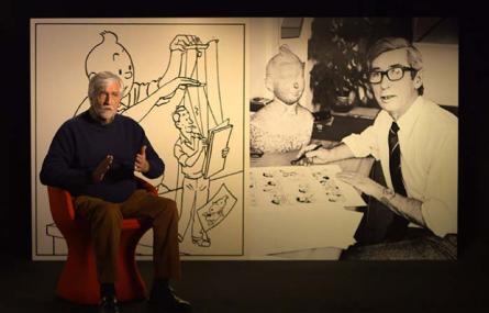 Hergé, à l'ombre de Tintin / en préparation pour Arte