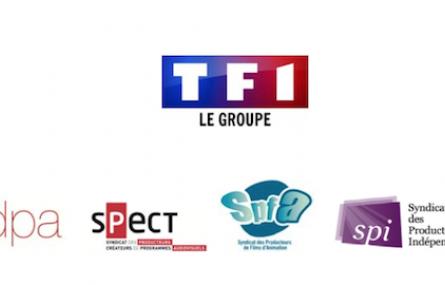 LE GROUPE TF1, le SATEV, le SEDPA, le SPECT, le SPFA, le SPI et l'USPA, SIGNENT UN NOUVEAU PARTENARIAT EN FAVEUR DE LA CREATION AUDIOVISUELLE FRANCAISE.