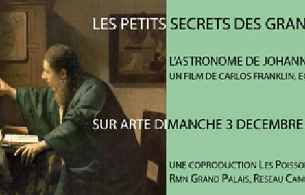 Les Petits Secrets des Grands Tableaux (saison 4) produit par Les Poissons Volants
