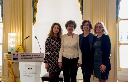 Créer en France un festival des séries de renommée internationale : remise du rapport de Laurence Herszberg à la ministre