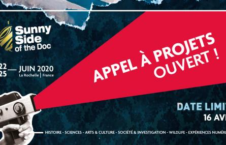 Appels à projets SUNNY SIDE OF THE DOC & PiXii Festival 2020